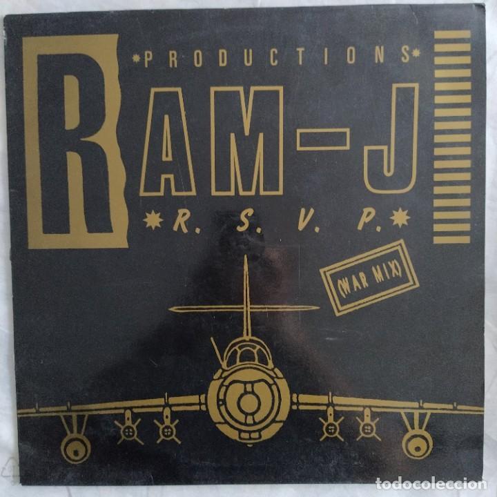 "RAM-J - R.S.V.P. (WAR MIX) (12"", MAXI) (QUALITY RECORDS)(D:NM) (Música - Discos de Vinilo - Maxi Singles - Techno, Trance y House)"