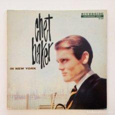 Discos de vinilo: CHET BAKER – IN NEW YORK USA 1985 ORIGINAL JAZZ CLASSICS. Lote 217471998