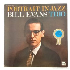 Discos de vinilo: BILL EVANS TRIO – PORTRAIT IN JAZZ JAPAN 1973 RIVERSIDE RECORDS. Lote 217472887