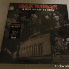 Discos de vinilo: IRON MAIDEN - 2 LP - A WAR HORSE OF STEEL - EDICION VINILO ROJO CON POSTER - NUEVO. Lote 217476420