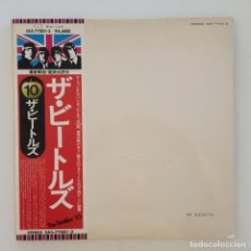 Discos de vinilo: THE BEATLES – THE BEATLES 2 LPS JAPAN 1976 APPLE RECORDS. Lote 217477633