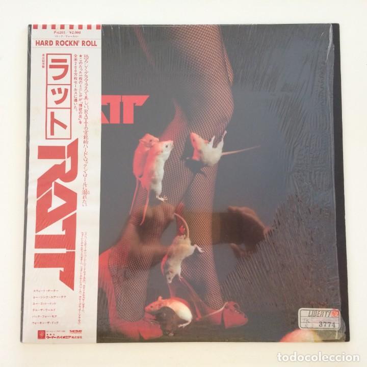RATT – RATT JAPAN 1985 TIME COAST COMMUNICATIONS (Música - Discos de Vinilo - Maxi Singles - Heavy - Metal)
