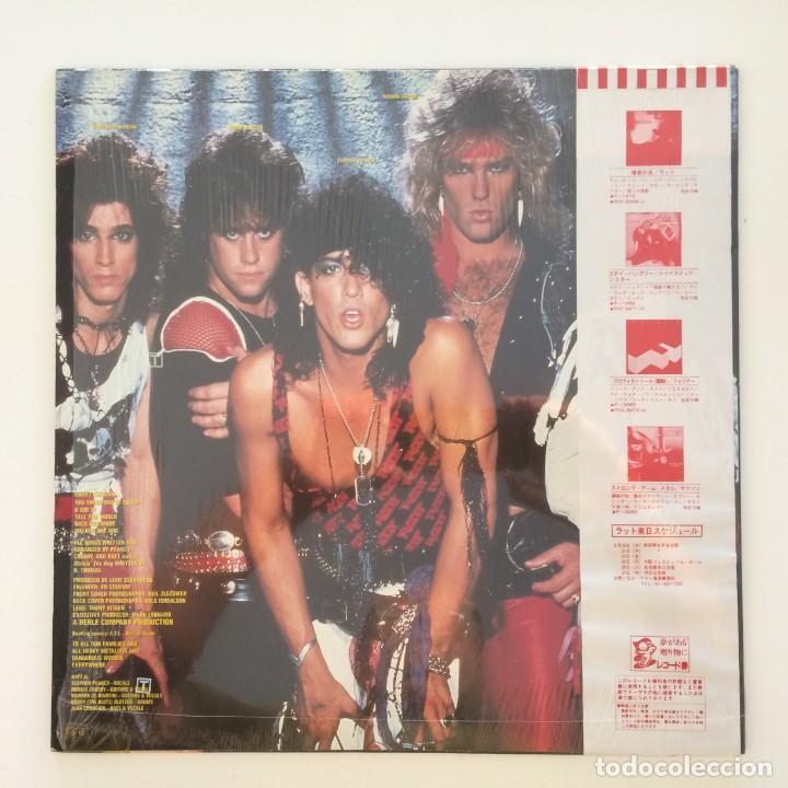 Discos de vinilo: Ratt – Ratt Japan 1985 Time Coast Communications - Foto 2 - 217479213