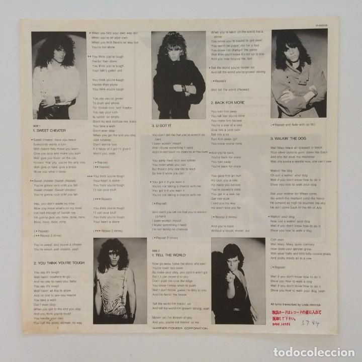 Discos de vinilo: Ratt – Ratt Japan 1985 Time Coast Communications - Foto 4 - 217479213