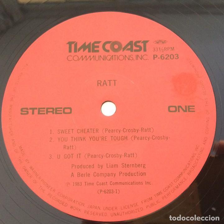 Discos de vinilo: Ratt – Ratt Japan 1985 Time Coast Communications - Foto 5 - 217479213