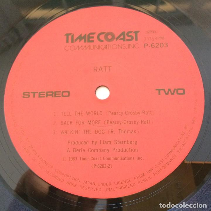 Discos de vinilo: Ratt – Ratt Japan 1985 Time Coast Communications - Foto 6 - 217479213