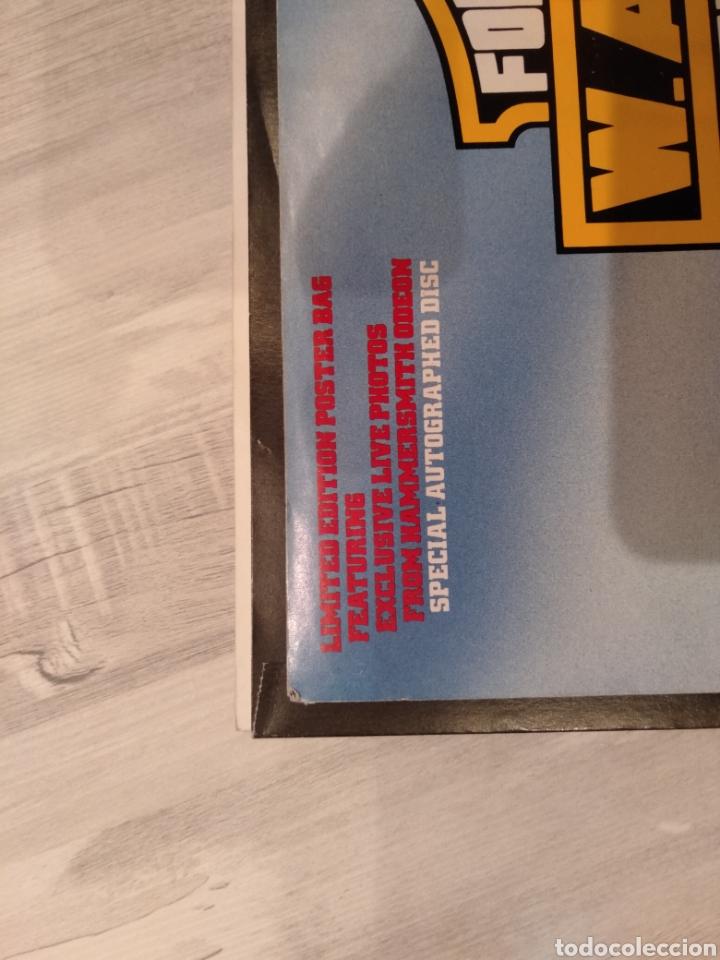 """Discos de vinilo: Wasp """" Forever Free """"Maxi Single 12"""" Edición Limitada U.K. Con Poster desplegable y Vinilo Firmado . - Foto 7 - 217485682"""