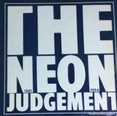Disques de vinyle: THE NEON JUDGEMENT - 1981 - 1984 (AZUL). Lote 217489581