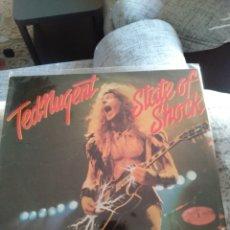 """Discos de vinilo: TED NUGENT """" STATE OF SHOCK"""". EDICIÓN ESPAÑOLA.. Lote 217502317"""