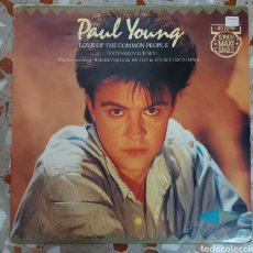Discos de vinilo: MAXI SINGLE PAUL YOUNG - LOVE OF THE COMMON PEOPLE. Lote 217503408