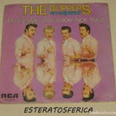 Discos de vinilo: THE BOOPERS - MAS, DAME MAS AMOR + TICK TOCK - RCA 1980. Lote 217509331