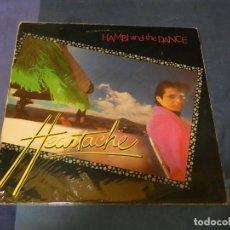 Discos de vinil: BO67-70 LP A LO U2 BRIT POP HAMBI AND THE DANCE HEARTACHE UK VIRGIN 82 ENCARTE MUY BUEN ESTADO. Lote 217512078