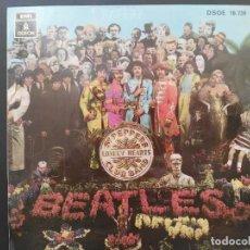 Discos de vinilo: THE BEATLES EP 45 RPM SGT. PEPPERS EMI ODEON DSOE 16739 ESPAÑA 1968 VER FOTOS ADICIONALES. Lote 217513822