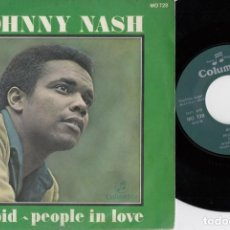 Discos de vinilo: JOHNNY NASH - CUPID - SINGLE DE VINILO EDICION ESPAÑOLA ROCKSTEADY REGGAE. Lote 217527021