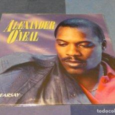 Discos de vinilo: LOTT71 LP FUNK SOUL UK 87 ALEXANDER O'NEAL HEARSAY MUY BUEN ESTADO. Lote 217538423