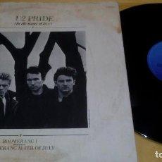 Discos de vinil: U2 ?– PRIDE (IN THE NAME OF LOVE). Lote 217552747