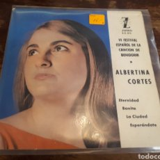 Discos de vinilo: ALBERTINA CORTES. Lote 217553536