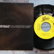 Discos de vinilo: SINGLE PROMOCIONAL GEORGE MICHAEL - PRAYING FOR TIME. Lote 217555753
