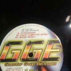 Discos de vinilo: GENERATOR GROUP ELECTROGEN GGE TELEGRAMA +2 MAXI MOKI RECORDS 1997 PEPETO. Lote 288094708