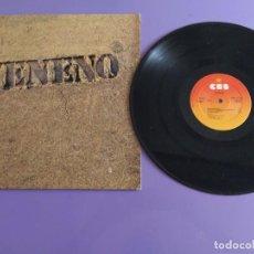 Discos de vinilo: JOYA LP. VENENO - VENENO SPAIN 1977. SELLO CBS 32148. PORTADA PLASTIFICADA.. Lote 217567322