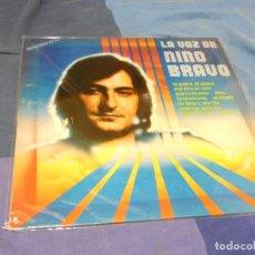 Discos de vinilo: EXPRO LA VOZ DE NINO BRAVO PEQUEÑAS SEÑALES DE USO ACEPTABLE, AÑO 1980. Lote 217575877