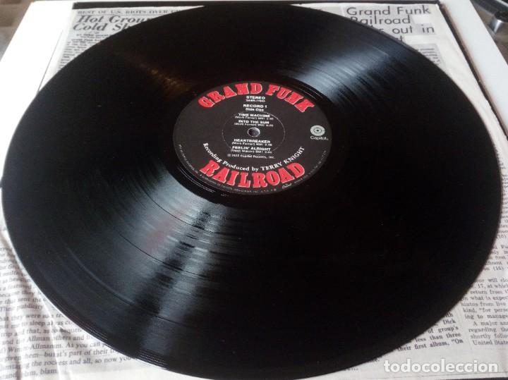Discos de vinilo: Grand Funk Railroad... Mark, Don & Mel 1969-71. (Capitol Records 1972) Usa - Foto 5 - 217576443