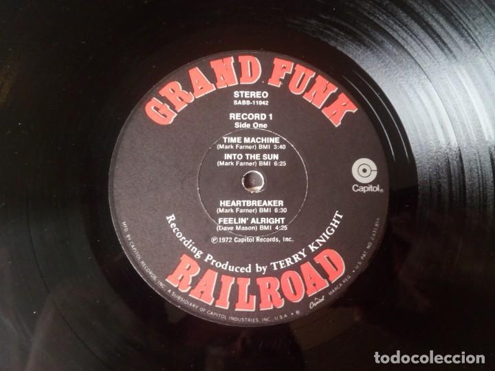Discos de vinilo: Grand Funk Railroad... Mark, Don & Mel 1969-71. (Capitol Records 1972) Usa - Foto 6 - 217576443