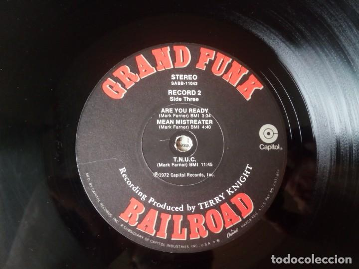 Discos de vinilo: Grand Funk Railroad... Mark, Don & Mel 1969-71. (Capitol Records 1972) Usa - Foto 8 - 217576443
