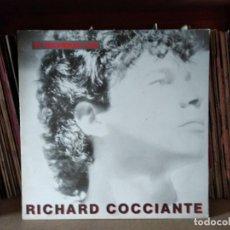 Disques de vinyle: RICHARD COCCIANTE - SI VOLVIERAS A MI - LP EN ESPAÑOL 1985. Lote 217587418