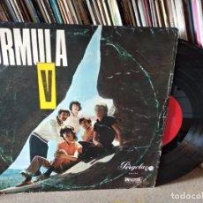 Discos de vinilo: FORMULA V - AYER Y HOY - 10 PULGADAS - UNIVERSAL - ED.CIRCULO DE LECTORES. Lote 217589787