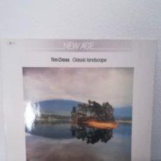Discos de vinilo: LP TIM CROSS - CLASSIC LANDSCAPE, NETHERLANDS 1985, INSERT, MUY BUEN ESTADO. Lote 217597017