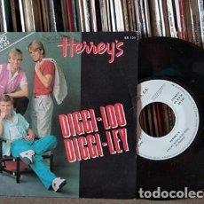 Discos de vinilo: HERREY´S - DIGGI - LOO DIGGI - LEY - 1ª PREMIO EUROVISIÓN 1984 - SUECIA. Lote 217598496