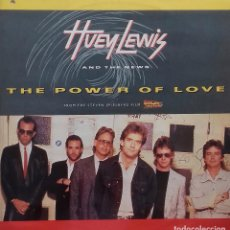 Discos de vinilo: HUEY LEWIS AND THE NEWS. THE POWER OF LOVE. MAXISINGLE CRYSALIS 1985 UK. Lote 217598938