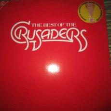 Discos de vinilo: THE CRUSADERS - THE BEST OF THE CRUSADERS DOBLE LP - ORIGINAL ALEMAN - MCA 1976 - GATEFOLD COVER. Lote 217602758