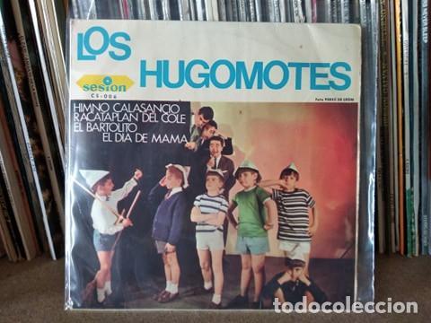 LOS HUGOMOTES HIMNO CALASANCIANO/RACATAPLAN DEL COLE/EL BARTOLITO/EL DIA DE MAMA EP 1966 (Música - Discos de Vinilo - EPs - Música Infantil)
