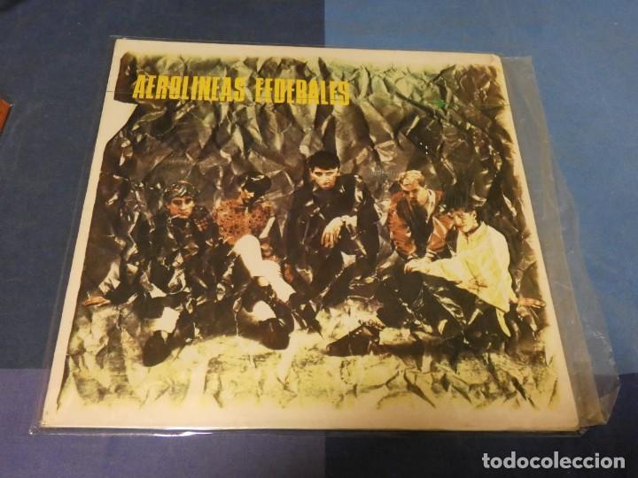 EXPRO LP PUNK MOVIDA AEROLINEAS FEDERALES DRO 1986 MUY BUEN ESTADO GENERAL PEGATA ATRAS (Música - Discos - LP Vinilo - Pop - Rock - Extranjero de los 70)