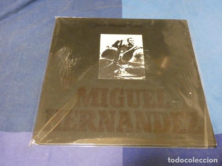 EXPRO LP JOAN MANUEL SERRAT MIGUEL HERNANDEZ 1972 GATEFOLD LP CORRECTISIMO NO FOTO ATRAS (Música - Discos - LP Vinilo - Pop - Rock - Extranjero de los 70)