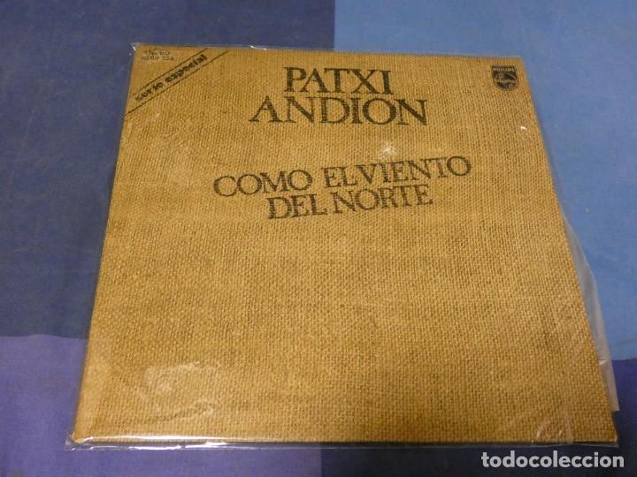 EXPRO LP PATXI ANDION COMO EL VIENTO DEL NORTE MUY BUEN ESTADO GENERAL 1974 (Música - Discos - LP Vinilo - Pop - Rock - Extranjero de los 70)