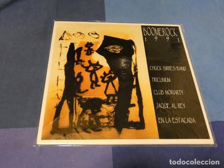 EXPRO LP POP ROCK CATALA CATALAN BOOME ROCK 91 MUY BUEN ESTADO GENERAL ENCARTE (Música - Discos - LP Vinilo - Pop - Rock - Extranjero de los 70)
