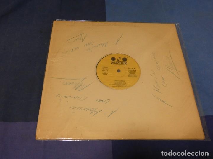 EXPRO LP 1986 JAN-CANDELA SIN TAPA DEDICADO POR EL AUTOR (Música - Discos - LP Vinilo - Pop - Rock - Extranjero de los 70)