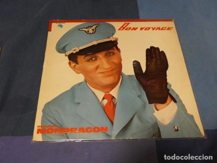 EXPRO LP ORQUESTRA MONDRAGON BON VOYAGE TIRA ADHESIVO ARRIBA VINILO CORRECTO (Música - Discos - LP Vinilo - Pop - Rock - Extranjero de los 70)