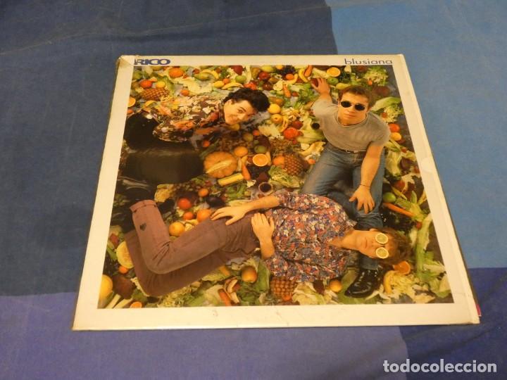 EXPRO LP 1993 RICO BLUSIANA MUY BUEN ESTADO GENERAL NACHA POP (Música - Discos - LP Vinilo - Pop - Rock - Extranjero de los 70)