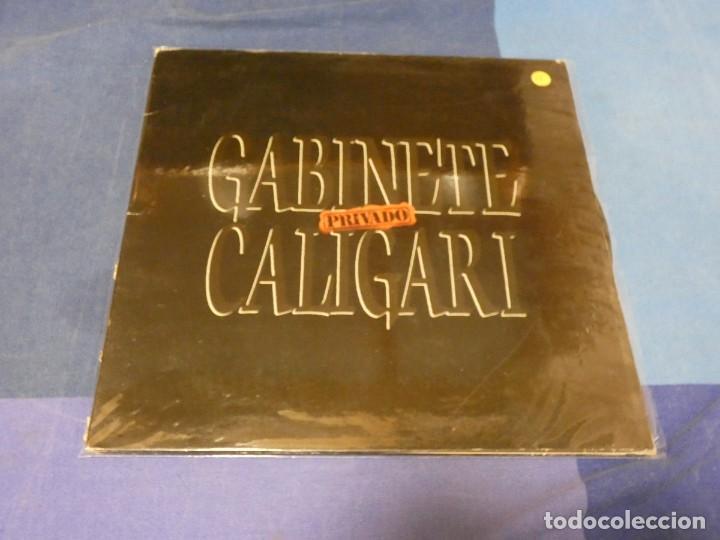 EXPRO LP GABINETE GALIGARI PRIVADO GATEFOLD PEQUEÑAS SEÑALES DE DESGASTE EN PORTADA VINILO BIEN (Música - Discos - LP Vinilo - Pop - Rock - Extranjero de los 70)