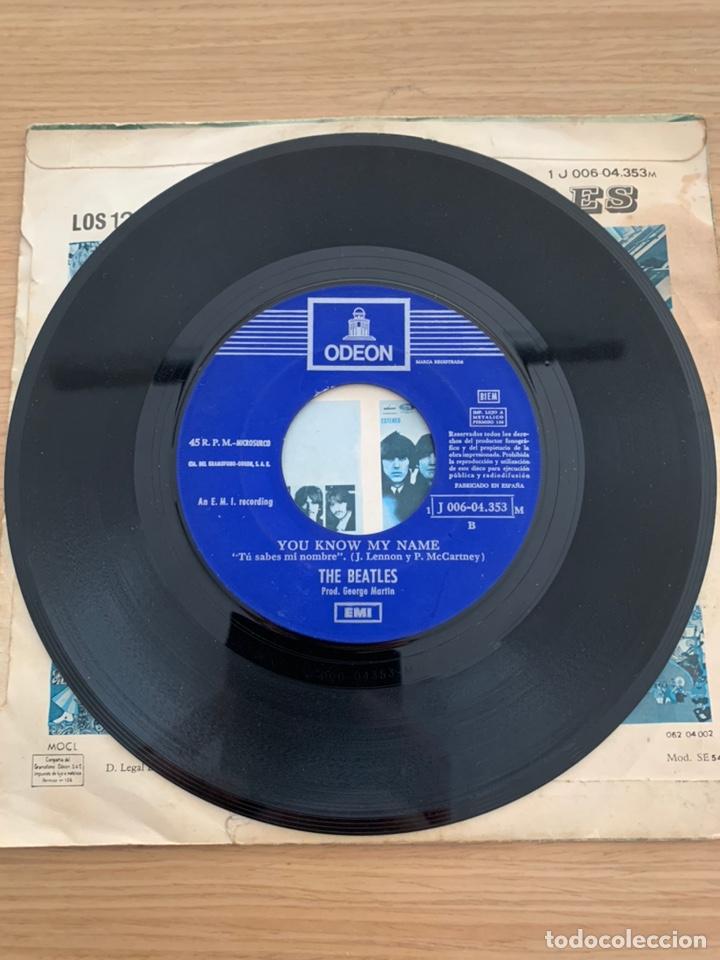 """Discos de vinilo: The Beatles - single 7"""" - Let it Be - Foto 3 - 217615622"""