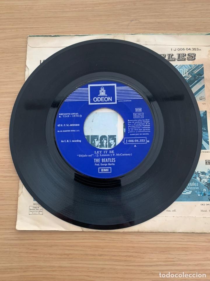 """Discos de vinilo: The Beatles - single 7"""" - Let it Be - Foto 4 - 217615622"""