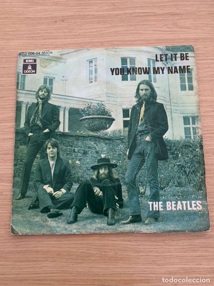 """THE BEATLES - SINGLE 7"""" - LET IT BE (Música - Discos - Singles Vinilo - Pop - Rock Internacional de los 50 y 60)"""