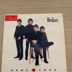 "Discos de vinilo: THE BEATLES - SINGLE 7"" - REAL LOVE. Lote 217615900"