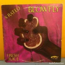 Discos de vinilo: BLOWFLY FRESH JUICE US 1983. Lote 217618446