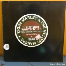 Discos de vinilo: ZIGGY MARLEY AND THE MELODY MAKERS EVERYONE WANTS TO BE. Lote 217621906