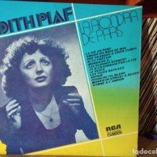 Disques de vinyle: EDITH PIAF // LA ALONDRA DE PARIS //1973 (VG VG). LP. Lote 217639900